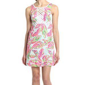 Lilly Pulitzer sleeveless print Rosie shift dress